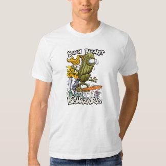 Camiseta combinada del blanco del Biohazard de la Remeras