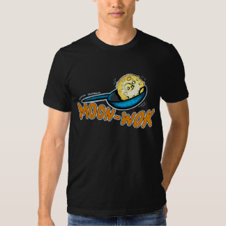 Camiseta cómica hilarante del MoonWALK de MoonWOK Remera
