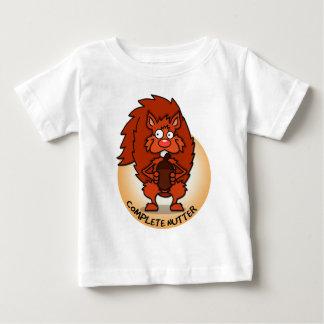 Camiseta completa del bebé de Nutter Playera