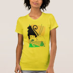 Camiseta con clase de los gatitos