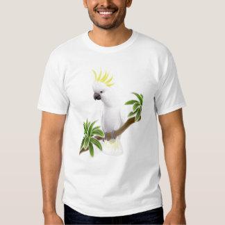 Camiseta con cresta del Cockatoo del azufre Camisas