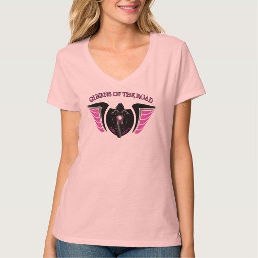 Camiseta con cuello de pico básica