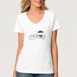 Camiseta con cuello de pico nana de Hanes de las Playeras
