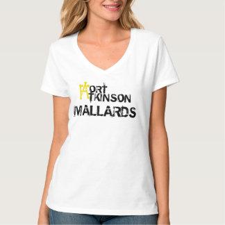 Camiseta con cuello de pico nana de los patos camisas