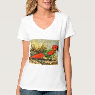 Camiseta con cuello de pico nana de Necropsittacus