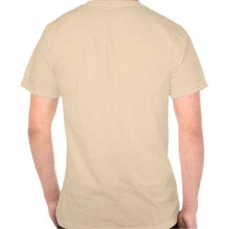 Camiseta con del logotipo la parte posterior encen