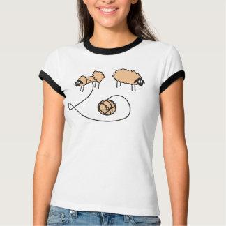 Camiseta con diseño de las ovejas remeras