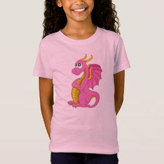 Camiseta con el dibujo animado del dragón remeras