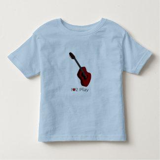 Camiseta con el ejemplo de una guitarra eléctrica