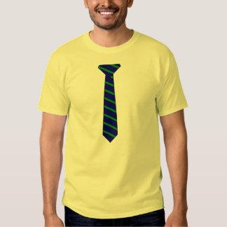¡Camiseta con Imprimir-En la corbata! Polera