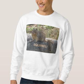 Camiseta con la ardilla sudaderas encapuchadas