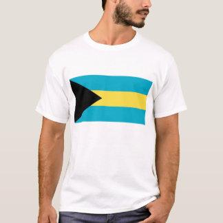 Camiseta con la bandera de Bahamas