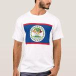 Camiseta con la bandera de Belice