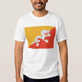 Camiseta con la bandera de Bhután Camisas