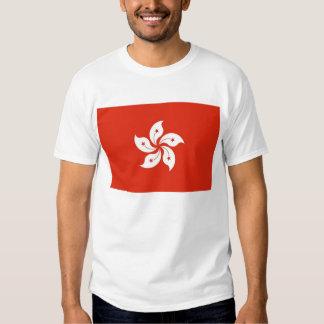 Camiseta con la bandera de Hong Kong, China Playeras