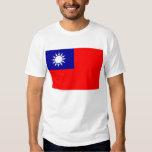 Camiseta con la bandera de Taiwán Polera