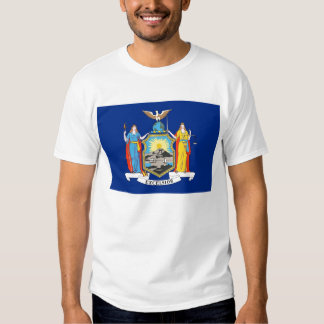 Camiseta con la bandera del Estado de Nuevo York Remeras