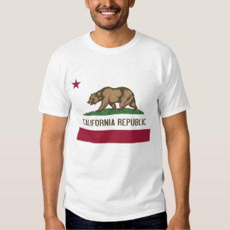 Camiseta con la bandera del estado los E.E.U.U. de Remeras