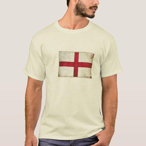Camiseta con la bandera del inglés del viejo
