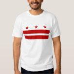 Camiseta con la bandera del Washington DC - los Polera