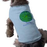 Camiseta con la flor de la vida tshirt de perro