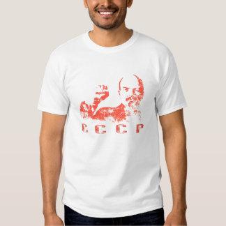 Camiseta con la impresión de URSS del vintage de Playeras