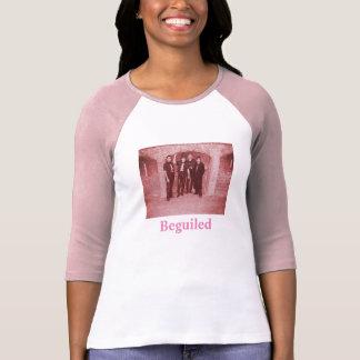 Camiseta con mangas del tres cuartos de las playera