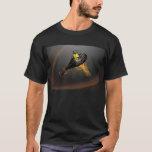 camiseta con pala de padel