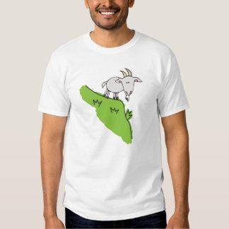 camiseta con una cabra playera