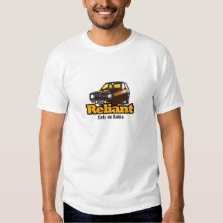 Camiseta confiada del petirrojo polera