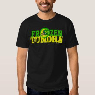 Camiseta congelada del equipo de fútbol del NFL Polera