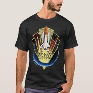 Camiseta conmemorativa del transbordador espacial