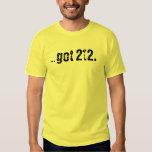 . camiseta conseguida 212 remera