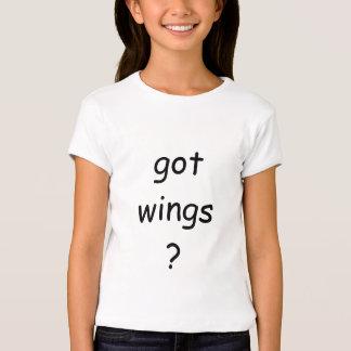 Camiseta conseguida de las alas camisas