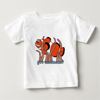 Camiseta conseguida del bebé de Clownfish de la