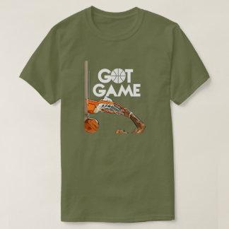 Camiseta conseguida del juego (baloncesto) playeras
