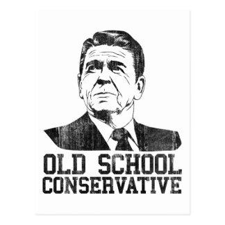 Camiseta conservadora del vintage de la escuela vi postal