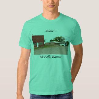 Camiseta:  Consuelo--- Caídas de los alces, Kansas Poleras
