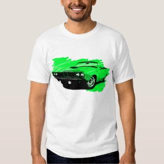 Camiseta convertible 1971 del coche de Plymouth Polera