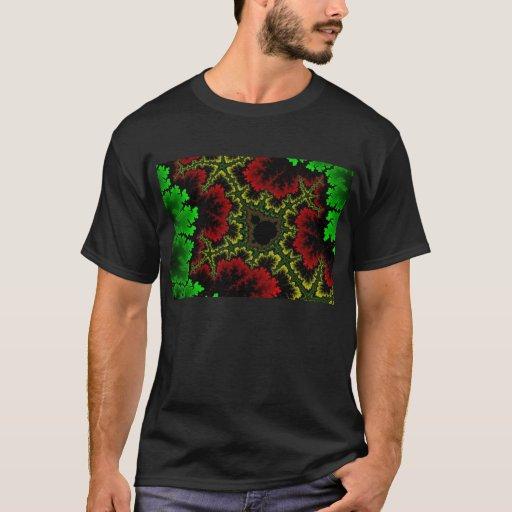 Camiseta coralina del collage