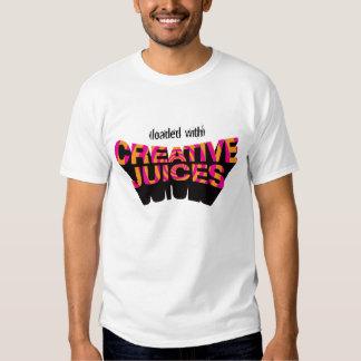 Camiseta creativa de los jugos de Pinkorange Remeras