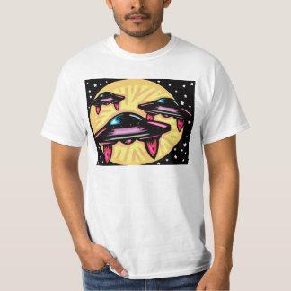 Camiseta creativa del diseño de los vehículos remeras