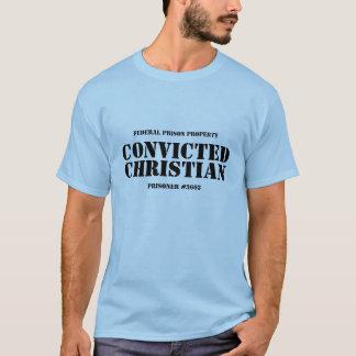Camiseta cristiana condenada