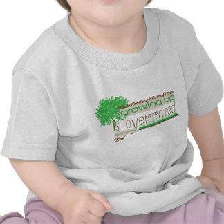 Camiseta cristiana del bebé - creciendo