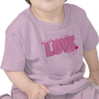 Camiseta cristiana del bebé - poco insecto del amo