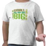 Camiseta cristiana del niño de los planes grandes
