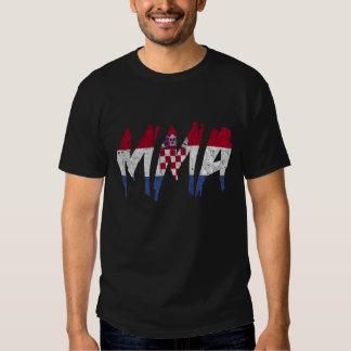 Camiseta croata del Muttahida Majlis-E-Amal de la Polera