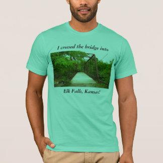 Camiseta: Crucé el puente en caídas de los alces, Playera