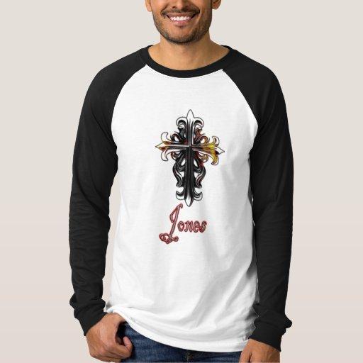 Camiseta cruzada de Jones