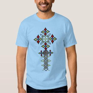 Camiseta cruzada etíope remera